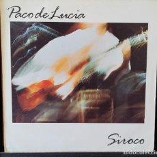 Discos de vinilo: PACO DE LUCIA - SIROCO LP. Lote 289556748