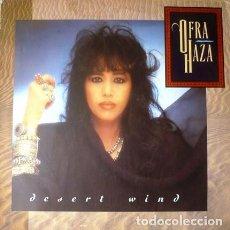 Discos de vinilo: OFRA HAZA – DESERT WIND - LP GERMANY 1989. Lote 289565478
