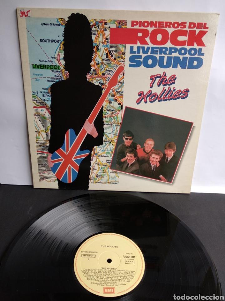 THE HOLLIES, PIONEROS DEL ROCK LIVERPOOL SOUND, 1986 (Música - Discos - LP Vinilo - Pop - Rock - New Wave Internacional de los 80)