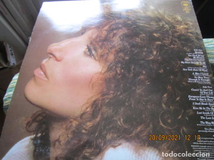 Discos de vinilo: BARBRA SREISAND - LOVE SONG LP - ORIGINAL INGLES - CBS RECORDS 1981 CON FUNDA INT. ORIGINAL - Foto 8 - 289569293