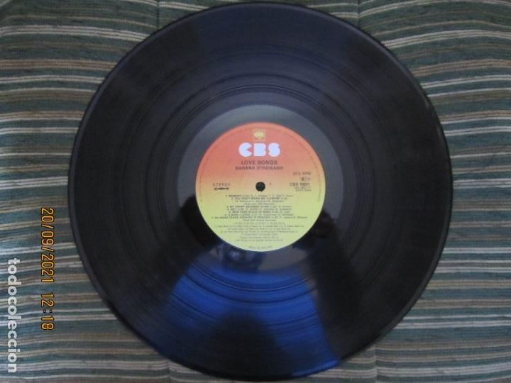 Discos de vinilo: BARBRA SREISAND - LOVE SONG LP - ORIGINAL INGLES - CBS RECORDS 1981 CON FUNDA INT. ORIGINAL - Foto 10 - 289569293