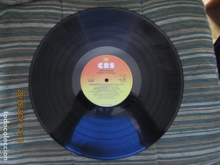 Discos de vinilo: BARBRA SREISAND - LOVE SONG LP - ORIGINAL INGLES - CBS RECORDS 1981 CON FUNDA INT. ORIGINAL - Foto 13 - 289569293