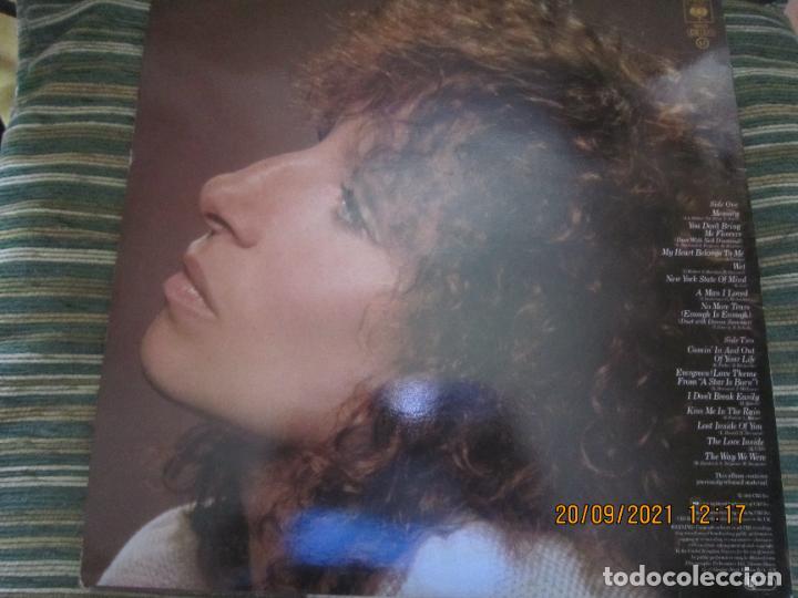 Discos de vinilo: BARBRA SREISAND - LOVE SONG LP - ORIGINAL INGLES - CBS RECORDS 1981 CON FUNDA INT. ORIGINAL - Foto 17 - 289569293
