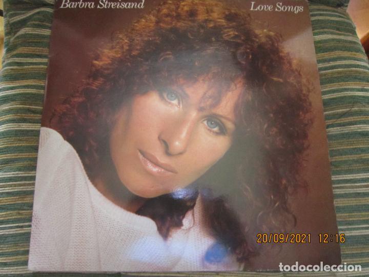 BARBRA SREISAND - LOVE SONG LP - ORIGINAL INGLES - CBS RECORDS 1981 CON FUNDA INT. ORIGINAL (Música - Discos - LP Vinilo - Pop - Rock - New Wave Internacional de los 80)