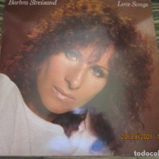 Discos de vinilo: BARBRA SREISAND - LOVE SONG LP - ORIGINAL INGLES - CBS RECORDS 1981 CON FUNDA INT. ORIGINAL. Lote 289569293
