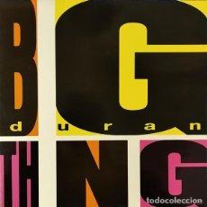 Discos de vinilo: DURAN DURAN – BIG THING - LP SPAIN 1988. Lote 289569313