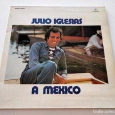 Discos de vinilo: VINILO LP DE JULIO IGLESIAS. A MEXICO. 1976.. Lote 289569318