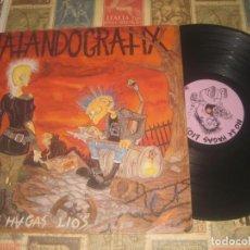 Discos de vinilo: MATANDO GRATIX - NO TE HAGAS LIOS - - POTENCIAL CORE 1992 + LETRAS OG ESPAÑA. Lote 289584943