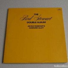 Discos de vinilo: ROD STEWART - AN OLD RAINCOAT.../ GASOLINE ALLEY (DISCO DOBLE). Lote 289589238