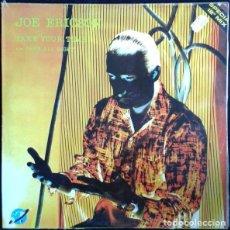 Discos de vinilo: JOE ERICSON– TAKE YOUR TIME / SHE'S ALL RIGHT - MAXI-SINLE KEY RECORDS INT. 1985. Lote 289590528