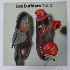 Discos de vinilo: LES LUTHIERS VOL. 3. LP. TDKDA80. Lote 289592218