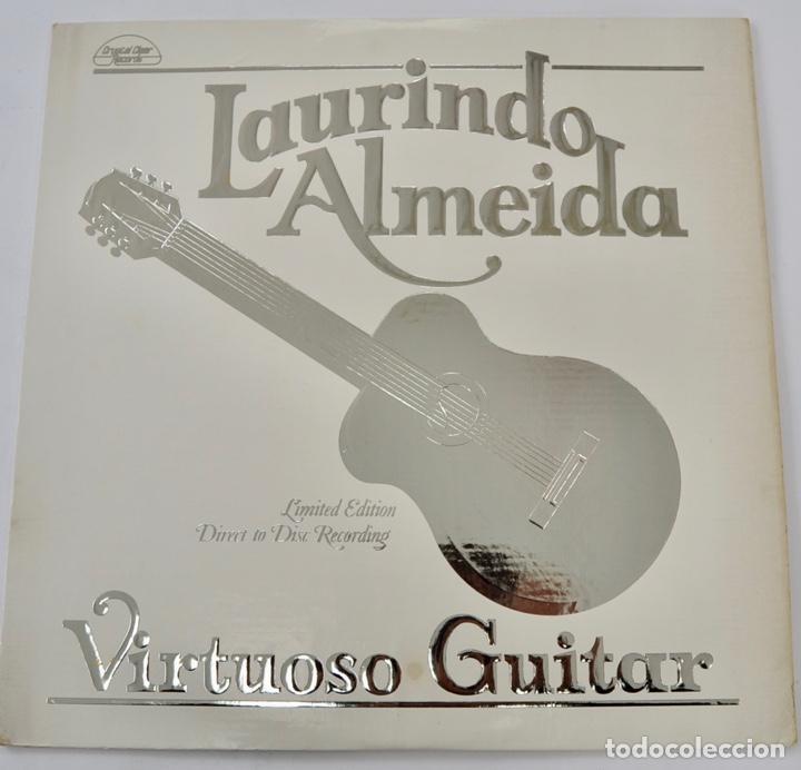 LAURINDO ALMEIDA. VIRTUOSO GUITAR. LIMITED EDITION. DIRECT TO DISC RECORDING. CRYSTAL CLEAR. 1977 (Música - Discos de Vinilo - Maxi Singles - Clásica, Ópera, Zarzuela y Marchas)