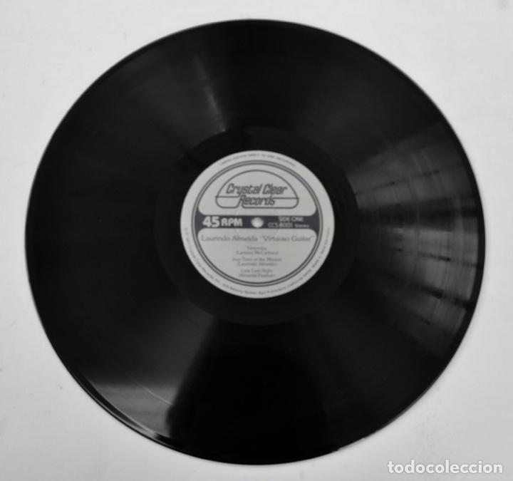 Discos de vinilo: Laurindo Almeida. Virtuoso Guitar. Limited Edition. Direct to Disc Recording. Crystal Clear. 1977 - Foto 8 - 289596008