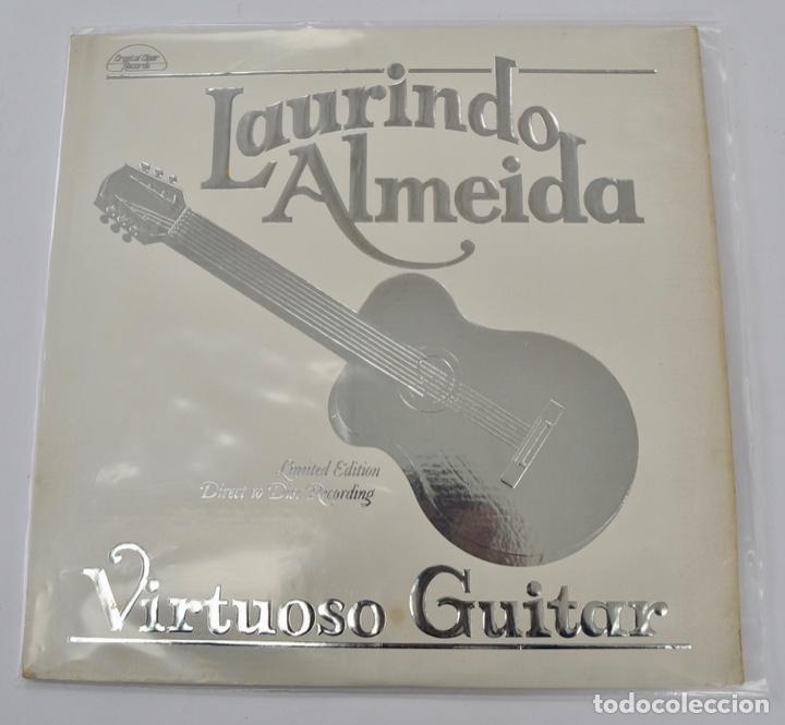 Discos de vinilo: Laurindo Almeida. Virtuoso Guitar. Limited Edition. Direct to Disc Recording. Crystal Clear. 1977 - Foto 10 - 289596008