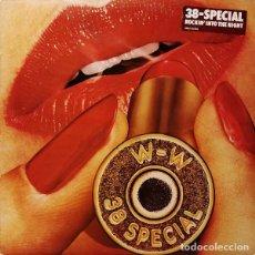 Discos de vinilo: 38 SPECIAL – ROCKIN' INTO THE NIGHT -LP-. Lote 289596468