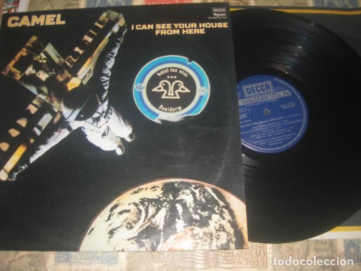 CAMEL - I CAN SEE YOUR HOUSE FROM HERE - (1979-DECCA) OG ESPAÑA LEA DESCRIPCION (Música - Discos - LP Vinilo - Pop - Rock - Internacional de los 70)