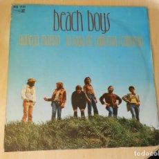 Discos de vinilo: BEACH BOYS, SG, NAVEGA MARINO (SAIL ON SAILOR) + 1, AÑO 1973. Lote 289602133