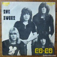 Discos de vinilo: THE SWEET - CO-CO / DONE ME WRONG ALL RIGHT- 1971 - EDICIÓN PORTUGUESA, MONO. Lote 289603263