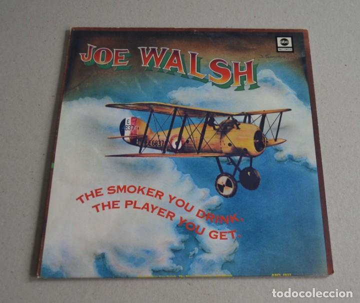 JOE WALSH - THE SMOKER YOU DRINK, THE PLAYER YOU GET (Música - Discos - LP Vinilo - Pop - Rock - Internacional de los 70)