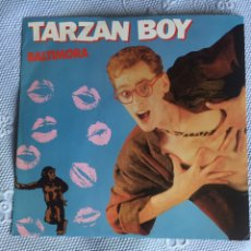 Discos de vinilo: BALTIMORA TARZAN BOY-MAXI. Lote 289608153