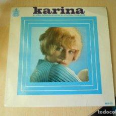 Discos de vinilo: KARINA, EP, VIVIRÉ + 3, AÑO 1966. Lote 289613658