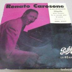 Discos de vinilo: RENATO CAROSONE (EP) CHIQUILLO (GUAGLIONE) AÑO – 1958. Lote 289619993