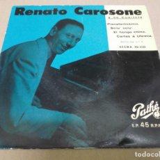 Discos de vinilo: RENATO CAROSONE (EP) PIANOFORTISSIMO AÑO – 1958. Lote 289620183