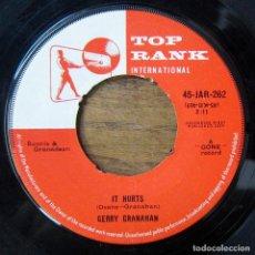 Discos de vinilo: GERRY GRANAHAN - IT HURTS / RICHIE ROBIN - STRANGE DREAMS - 1959. Lote 289620238
