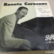 Discos de vinilo: RENATO CAROSONE (EP) TE ACUERDAS DE MARCELINO AÑO – 1958. Lote 289620493