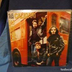 Discos de vinilo: LOTT144 LP GABINETE CALIGARI CIEN MIL VUELTAS GRAAAN ESTADO GENERAL CON SU ENCARTE. Lote 289623153