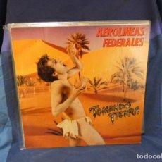 Discos de vinilo: LOTT144 LP AEROLINEAS FEDERALES TOMANDO TIERRA MUY LEVES SEÑALES DE USO AUN CORRECTISIMO DRO. Lote 289623413