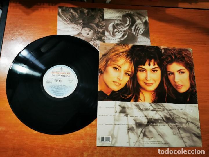 Discos de vinilo: WILSON PHILLIPS Shadows and light LP VINILO DEL AÑO 1992 ESPAÑA CON ENCARTE CONTIENE 13 TEMAS - Foto 2 - 289630628