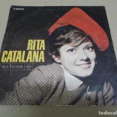 Discos de vinilo: RITA PAVONE (EP) RITA CATALANA (NOMES TU) AÑO – 1966. Lote 289647093