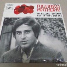 Discos de vinilo: RICHARD ANTHONY (EP) SEVERINE AÑO – 1968 – EDICION FRANCIA. Lote 289647178