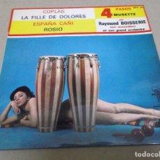 Discos de vinilo: RAYMOND BRISSERIE (EP) COPLAS AÑO – 1964 – EDICION FRANCIA. Lote 289647473