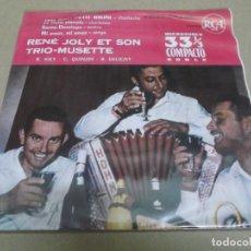 Discos de vinilo: RENE JOLY ET SON TRIO (EP) ITSI BITSI PETIT BIKINI AÑO – 1961. Lote 289647528