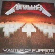 Discos de vinilo: METALLICA – MASTER OF PUPPETS - LP 180 GRS REEDICION 2008. Lote 289615503