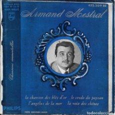 Discos de vinilo: ARMAND MESTRAL CHANSONS IMMORTELLES 1963. Lote 289655223