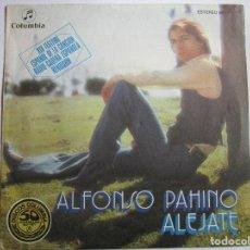 Discos de vinilo: ALFONSO PAHINO FESTIVAL DE BENIDORM 1977 ALEJATE. Lote 289661983
