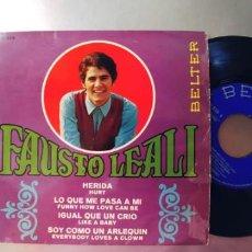 Discos de vinilo: FAUSTO LEALI-EP HERIDA +3. Lote 289666388