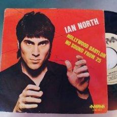 Discos de vinilo: IAN NORTH-SINGLE HOLLYWOOD BABYLON. Lote 289674978