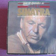 Discos de vinil: LP - FRANK SINATRA - LOS 14 GRANDES EXITOS (SPAIN, WEA RECORDS 1983). Lote 289676113