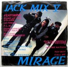 Discos de vinilo: MIRAGE - JACK MIX V - MAXI DEBUT EDGE RECORDS 1987 UK BPY. Lote 289676143
