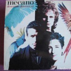 Discos de vinilo: LP - MECANO - DESCANSO DOMINICAL (SPAIN, ARIOLA 1988, PORTADA TRIPLE, CONTIENE ENCARTE). Lote 289677273