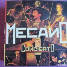Discos de vinilo: LP - MECANO - EN CONCIERTO (SPAIN, CBS 1985). Lote 289677628