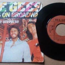 Discos de vinilo: BEE GEES / NIGHTS ON BROADWAY / SINGLE 7 PULGADAS. Lote 289678598