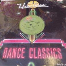 Discos de vinilo: KRAFTWERK/B.B. & Q. BAND–TRANS EUROPE EXPRESS / ON THE BEAT. MAXI EDICIÓN CANADÁ. Lote 289678868