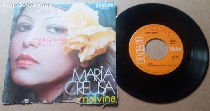 MARIA CREUSA / MALVINA / SINGLE 7 PULGADAS (Música - Discos - Singles Vinilo - Pop - Rock - Internacional de los 70)