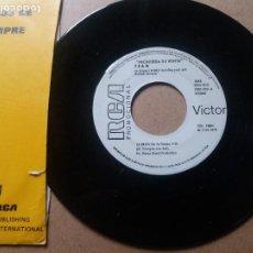Discos de vinilo: TEAM / LA RASPA / SINGLE 7 PULGADAS. Lote 289681053