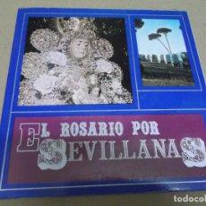 Discos de vinilo: EL PUEBLO DE GINES (EP) EL ROSARIO POR SEVILLANAS AÑO – 1969 – PORTADA ABIERTA. Lote 289681503